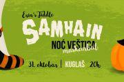 31.10. - SAMHAIN - Tradicionalni maskenbal za Noć Veštica